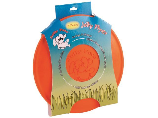 Jolly Pets Jolly Flyer, Orange, 7.5 Inch - JF175