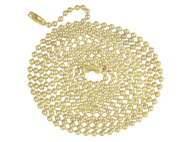 Westinghouse Lightng 70168 Chain-5' BRASS BEADED CHAIN