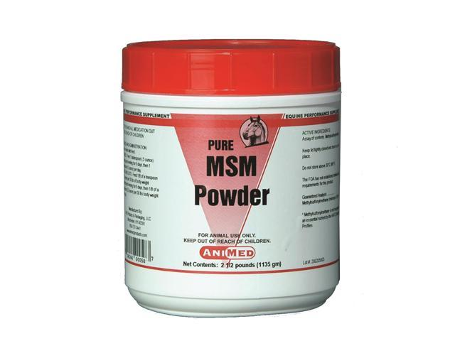 Animed 90058 Msm Pure Powder Dietary Sulfur Supplement