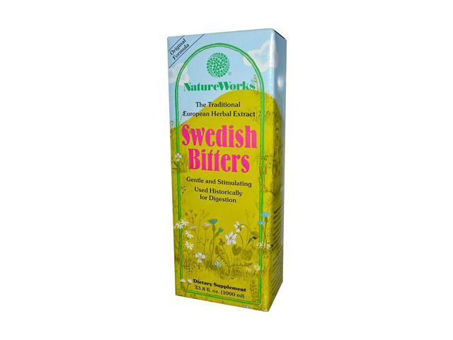 Swedish Bitters - Nature Works - 33.8 oz - Liquid