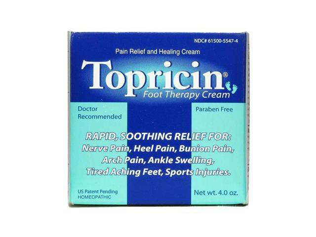 Topricin Foot Therapy Cream - Topricin - 4 oz - Cream