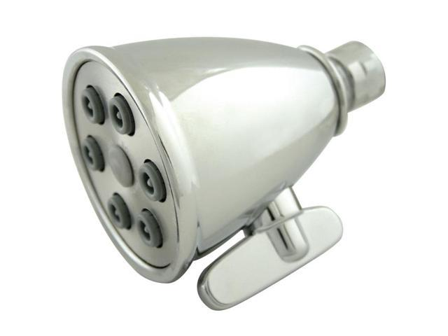 Kingston Brass K138A1 6 Spray Nozzles Power Jet Shower Head - Polished Chrome