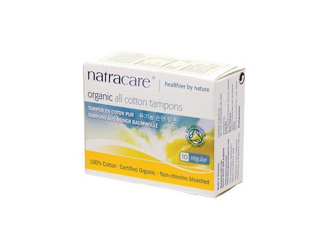 Tampons, Regular Organic - Natracare - 10 - Count