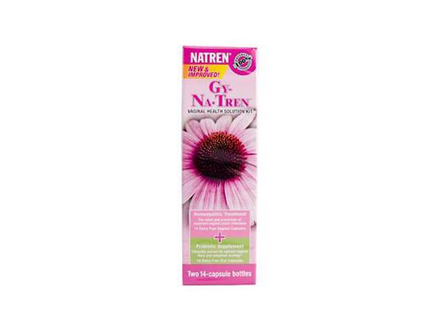 Gy-Na-Tren Oral/Vaginal Kit 14 Day Supply  New & Improved - Natren - 1 - Kit