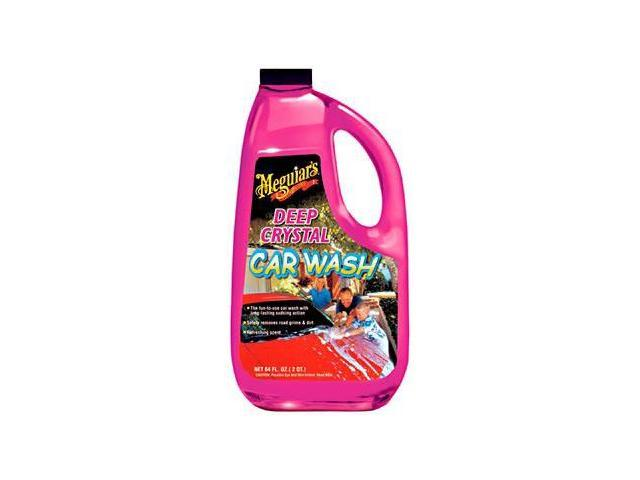 Meguiars 64 Oz Deep Crystal Car Wash  G10464
