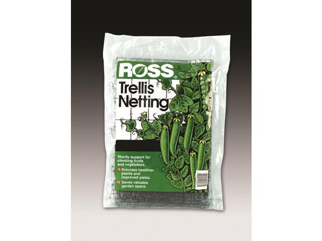 Easy Gardener Weatherly Consum Ross Trellis Netting Black 6 X 12 Feet - 16301