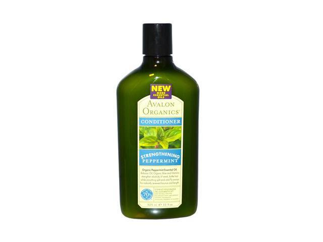 Avalon Organics Peppermint Revitalizing Conditioner, 11 Ounce