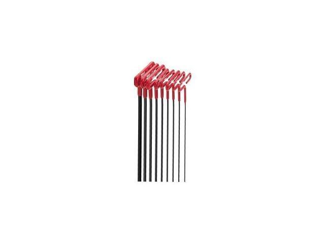 Eklind Tool Company 53198 9-inch SAE Cushion Grip T-Handle Hex Key Set - 8-Piece