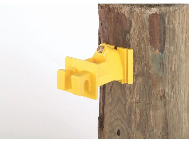 Dare Products Extend Wood Post Insulator Yellow - SNUG-SWP-25