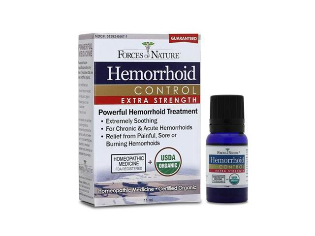 Hemorroid Control Extra Strength - Forces of Nature - 11 ml - Liquid