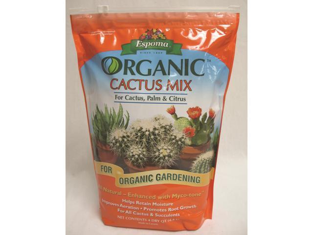 Espoma 027041 Organic Cactus Mix 4 Quart