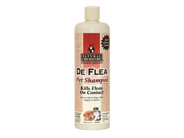 Natural Chemistry De Flea Shampoo, 16.9 Ounce - 11011