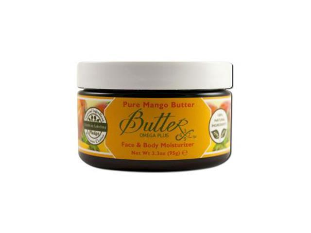 Body Butter - Mango - Aroma Naturals - 3.3 oz - Cream