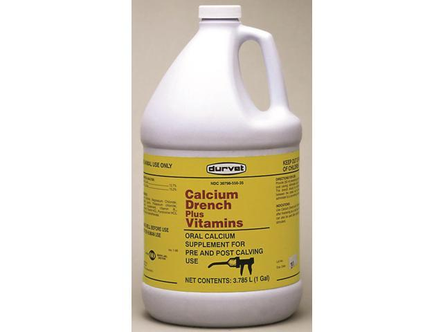 Durvet Inc 01 0254 Calcium Drench + Vitamins