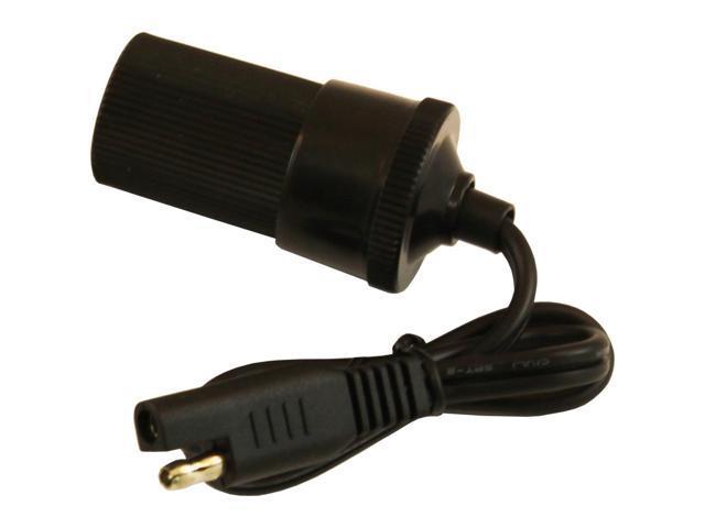 MotoBatt 1.5 Feet 18AWG Cable Lead with Femal Cigarette Socket
