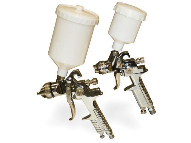 Buffalo Tools HVLPK2 2 Pc Gravity Fed Spray Gun Kit