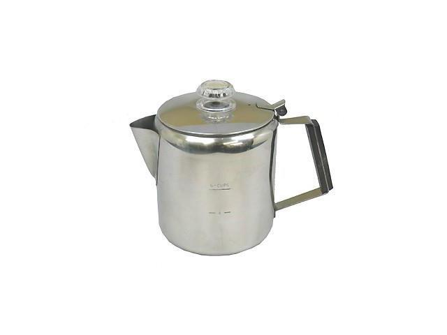 Chinook Coffee Percolator, 6 Cup