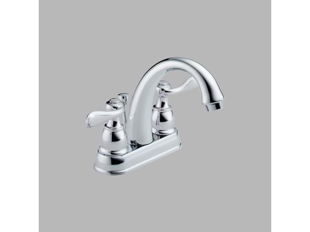2 Handle Centerset Lav Faucet DELTA FAUCET CO Delta Lavatory Double Handle