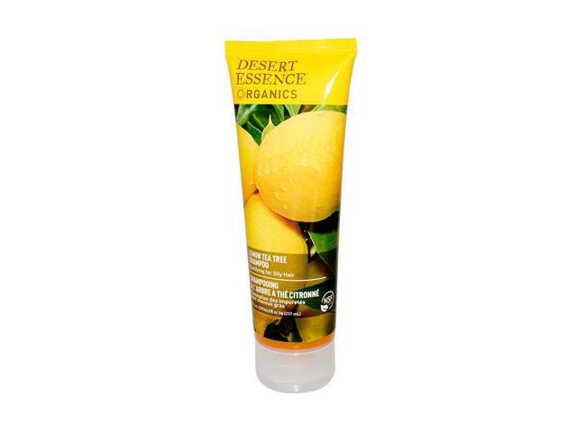 Lemon Tea Tree Shampoo For Oily Hair