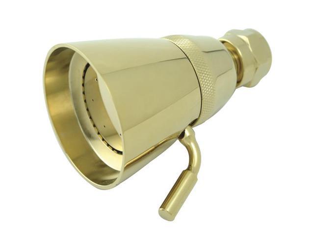 Kingston Brass K133A2 Kingston Brass K133A2 2-.25 in. Shower Head, Polished Brass