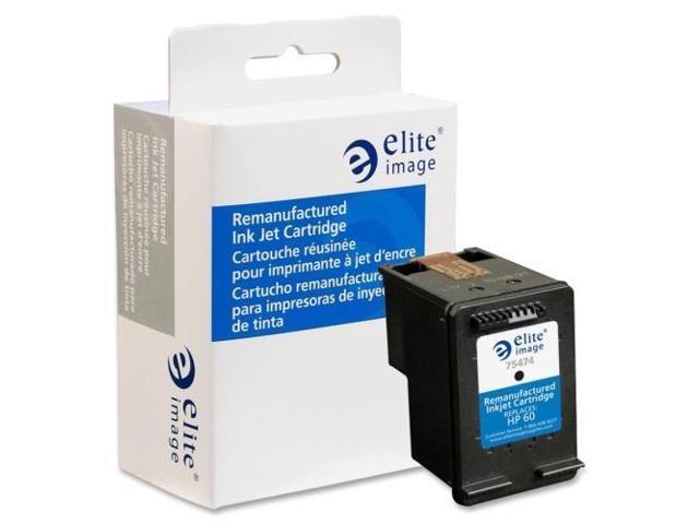 Elite Image 75474 Ink Cartridge 200 Page Yield Black