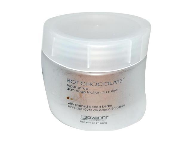 Hot Chocolate Sugar Scrub - Giovanni - 9 oz - Salt