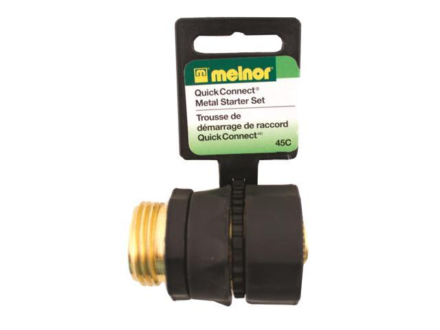 Melnor Industries Brass Quick Connector Kit Inch - 45C