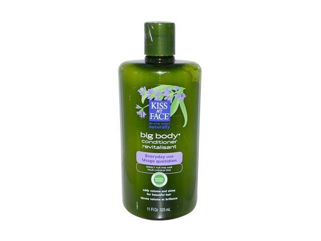 Organic Hair Care Paraben Free Big Body Conditioner - Kiss My Face - 11 oz - Liquid