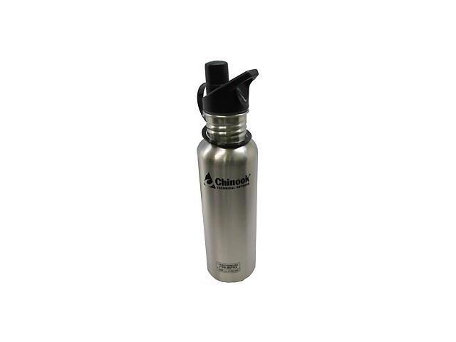 Chinook Timberline Wide Mouth Stainless Steel Bottle (0.75L)