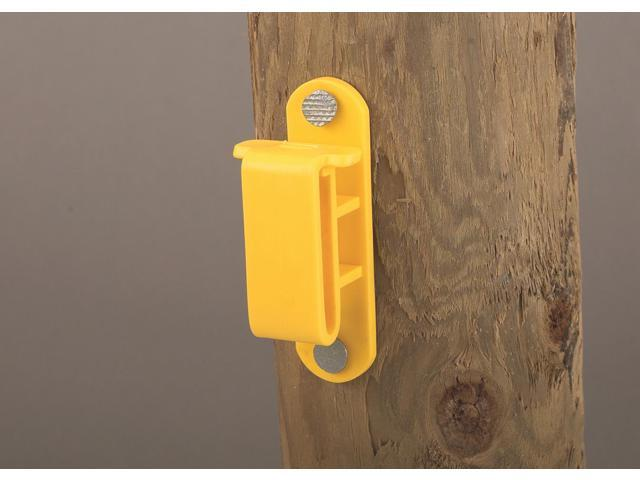 Dare Products Wood Post Tape Insulator Yellow - 2330-25
