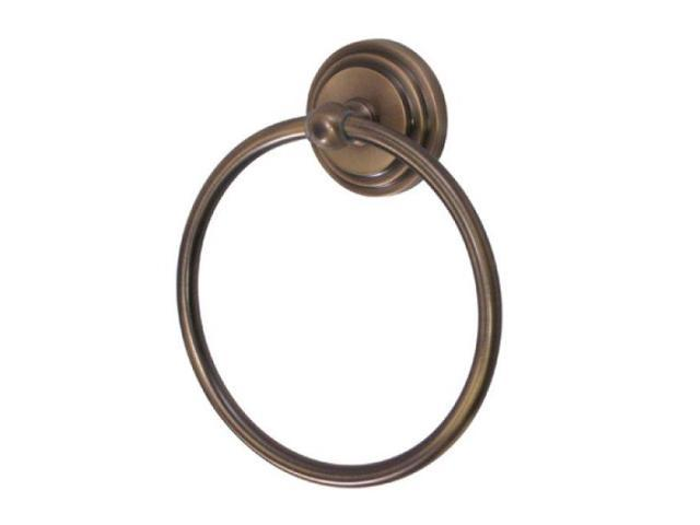 Kingston Brass Ba2714Ab Milano Towel Ring - Antique Brass Finish