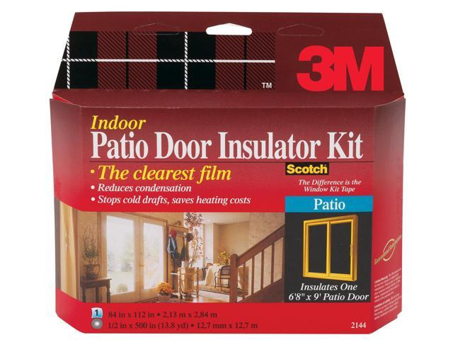 3m Interior Patio Door Insulator Kit  2144W-6