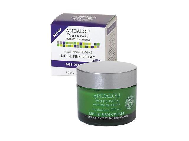 Hyaluronic DMAE Lift & Firm Cream - Andalou Naturals - 1.7 fl oz - Cream