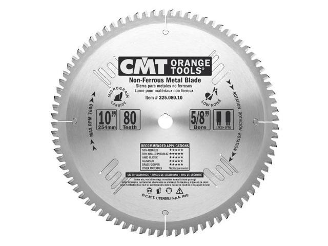 CMT 225.080.10 Industrial Non-Ferrous Metal Pvc And Melamine Saw Blade 10-inch x