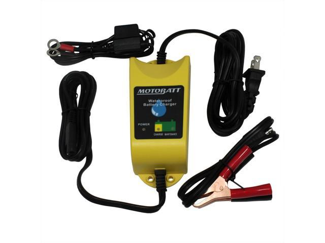 MotoBatt Water Boy Waterproof Battery Charger and Maintainer 12V at 1A