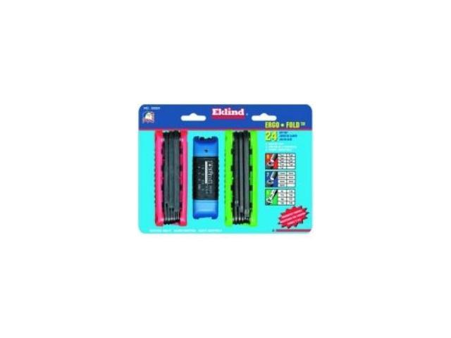 Eklind Ergo-Fold Hex Key Set.