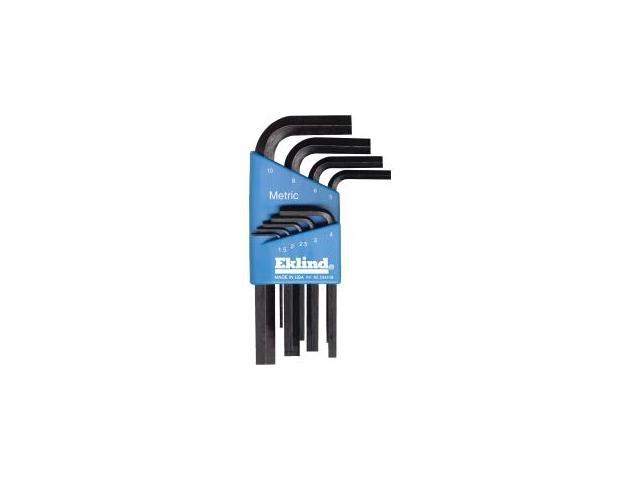 Eklind 9-Piece Metric Short Arm Hex Key Set.
