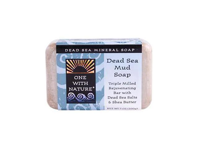Soap Dead Sea Mud - One With Nature - 7 oz - Soap