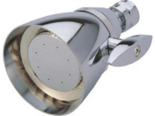 Kingston Brass CK132A1 Kingston Brass CK132A1 2-.25 in. Diameter Adjustable Brass Shower Head, Chrome