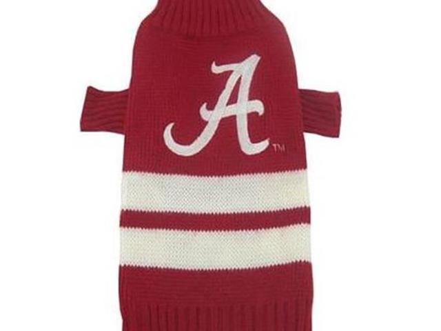 Pets First 3601 Alabama dog sweater Xtra Small