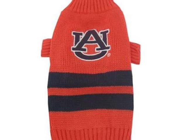 Pets First 302602 Auburn Dog Sweater Small