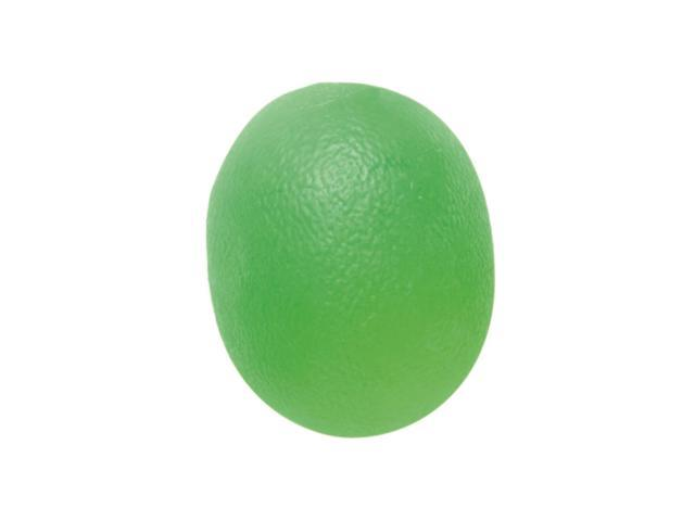 CanDo 10-1893 Gel Squeeze Ball Large Cylindrical Green Medium