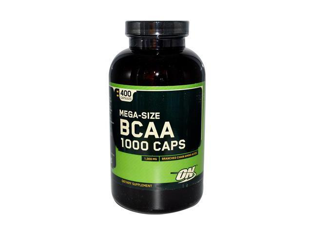 Optimum Nutrition, BCAA 1000mg 400 Capsules