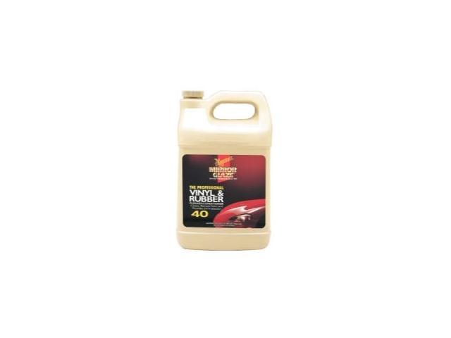 Meguiars M4001 Pro Vinyl and Rubber Cleaner - 1 Gallon