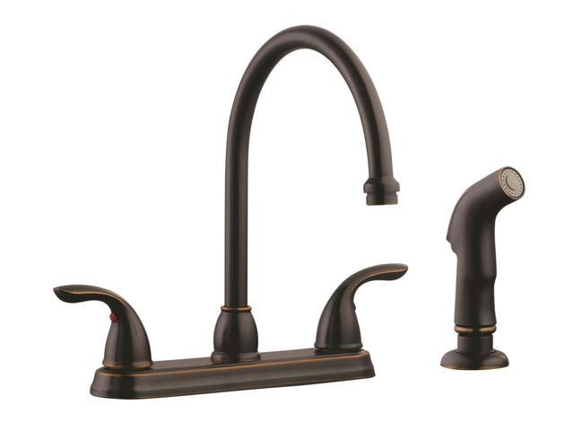 design house 525097 ashland high arch kitchen faucet with