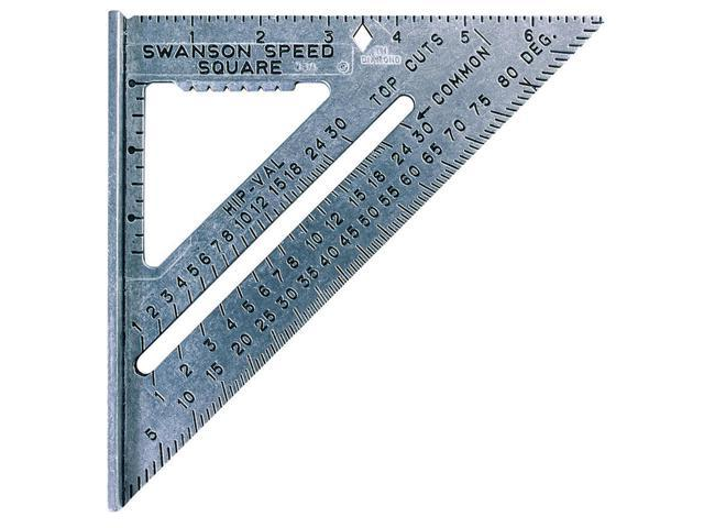 Swanson Tool S0101 Speed Square Rafter Angle Square-7-1/2