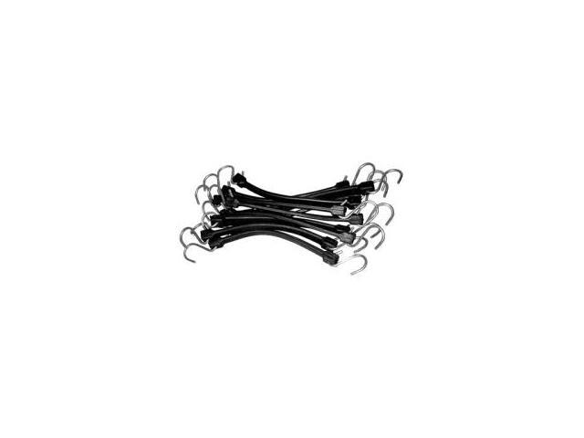 K Tool International 73850 21-in EPDM Rubber Strap Bungee Cord 10 Pack
