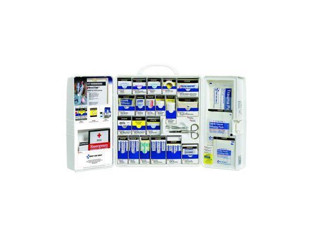 First Aid Only 1000-FAE-0103 Large First Aid Cabinet with Mediums Standard Busin