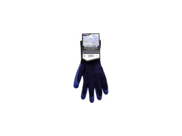 MAGID 508WTXL Navy Blue Winter Knit Latex Coated Palm Gloves Extra Large