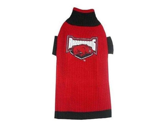 Pets First 12852 Arkansas dog sweater Small